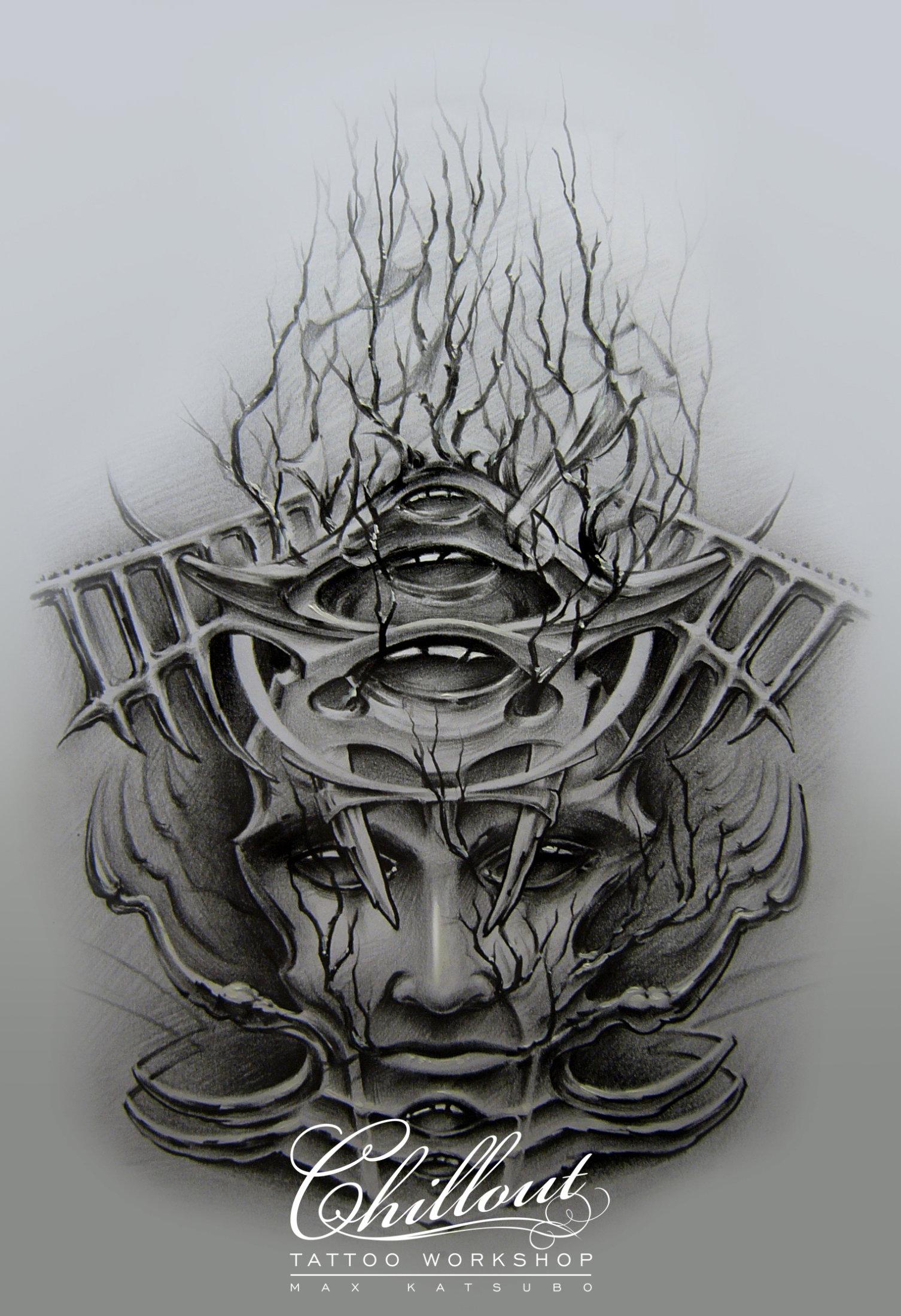 Art тату эскиз ZARYI