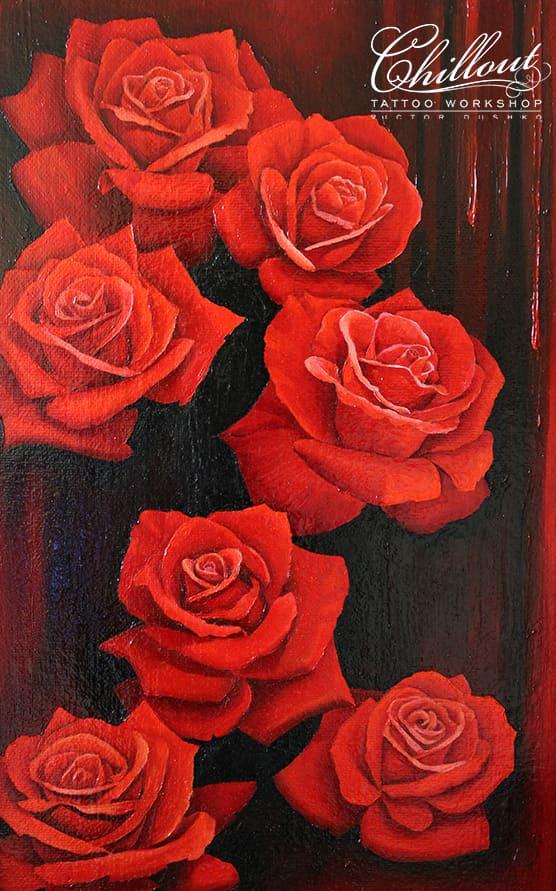 Art розы