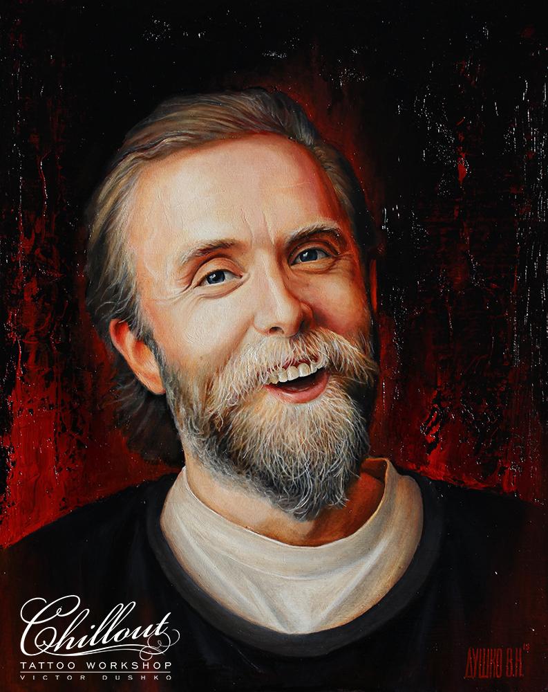 Art Викернес портрет маслом