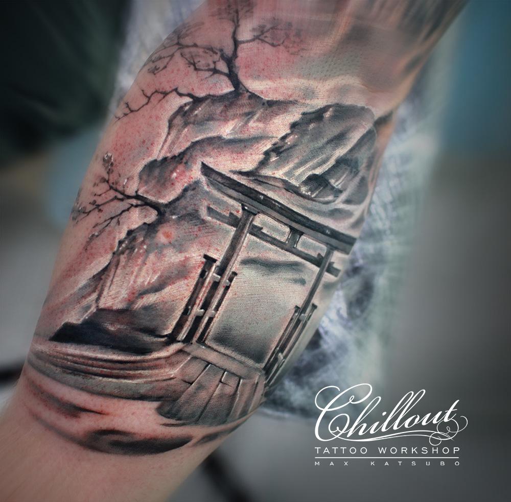 Татуировка небесные врата