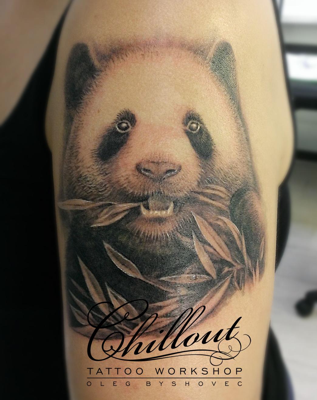 Panda Tatoo Oleg Byshovec