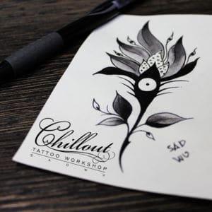 Эскиз татуировки