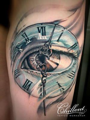 Eyeclock Tattoo